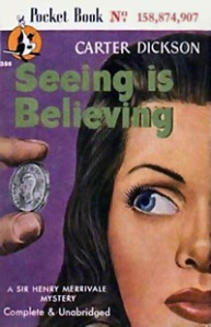 Seeing is Believing Pocket Book Cover